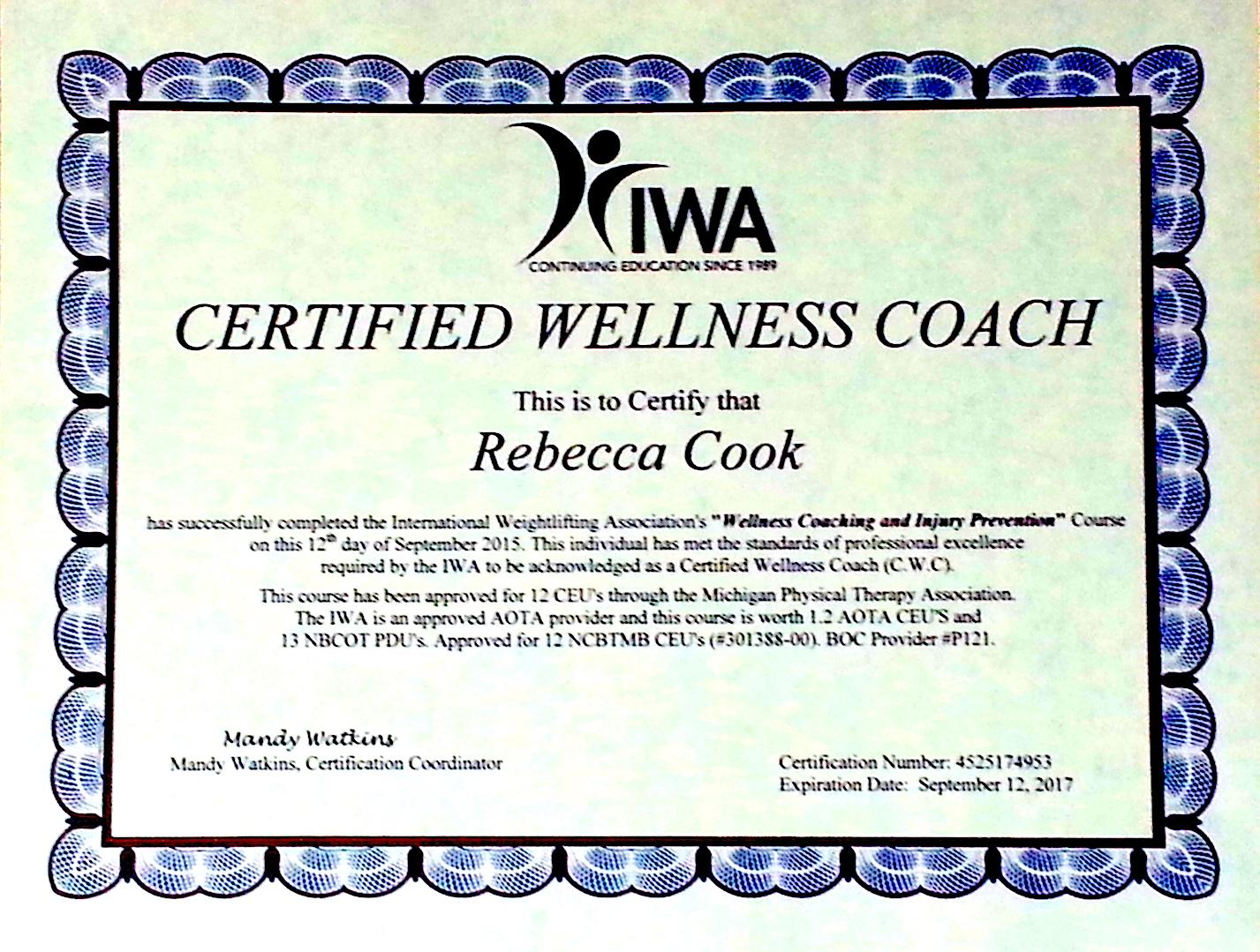 Wellness Desert Well